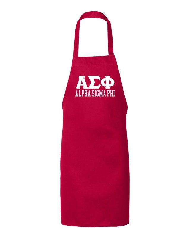 Alpha Sigma Phi Large Apron