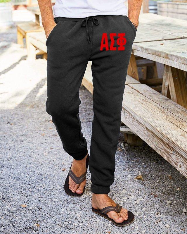 Alpha Sigma Phi Big Letter Sweatpants