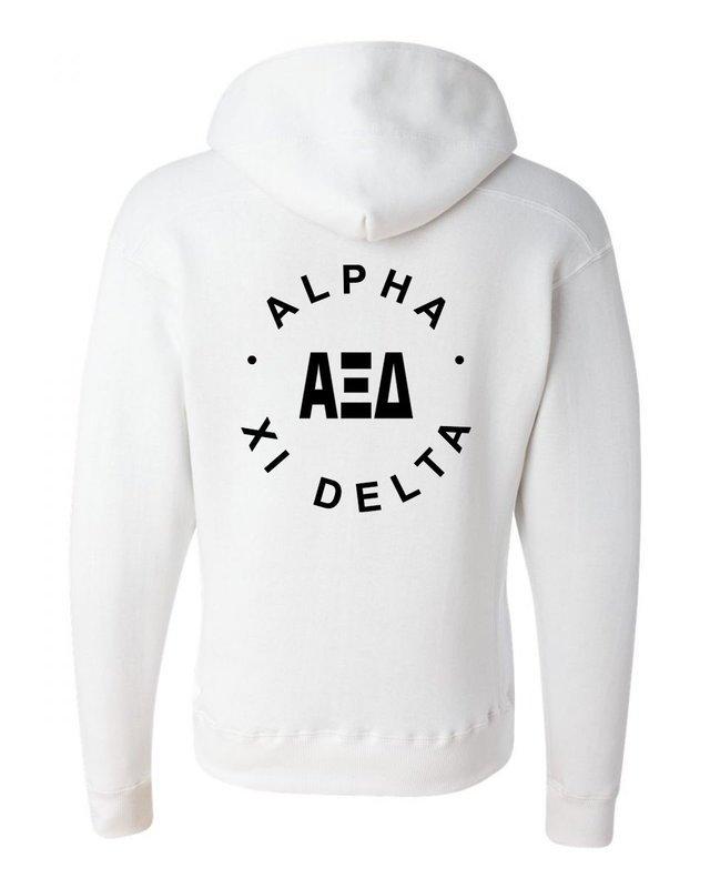 Alpha Xi Delta Circle Hoodie