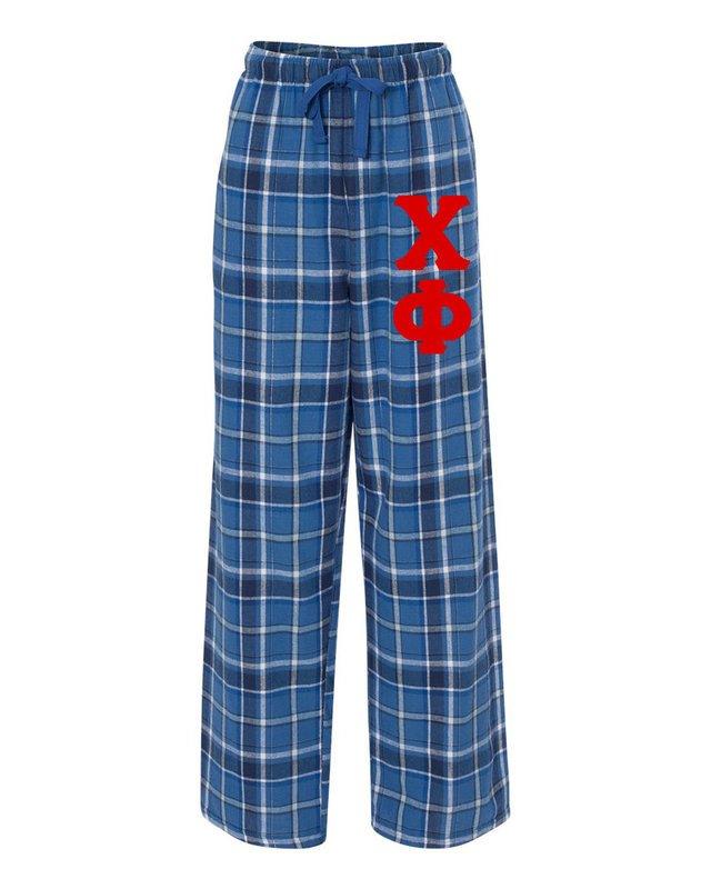 Chi Phi Pajamas Flannel Pant