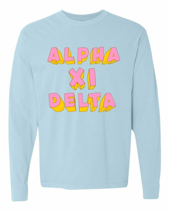 Comfort Colors 3Delightful Long Sleeve T-Shirt