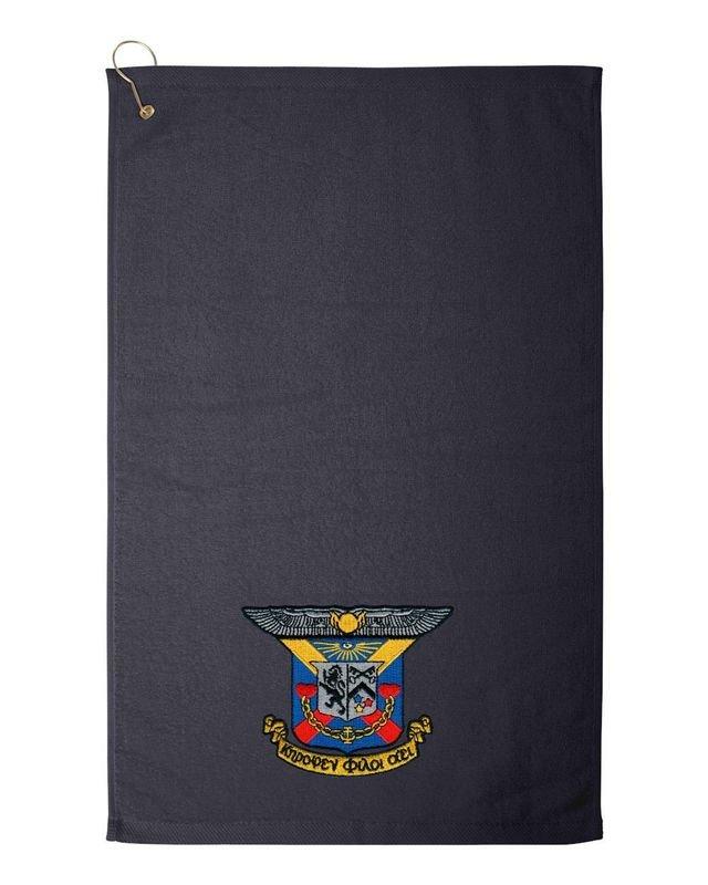 Delta Kappa Epsilon DEKE Golf Towel
