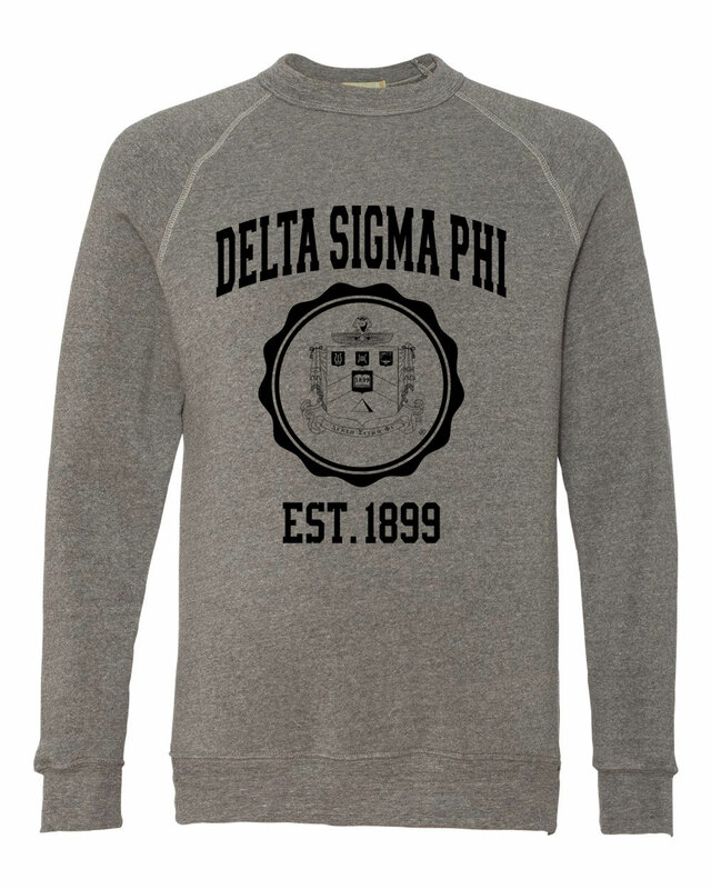 Delta Sigma Phi Alternative - Eco-Fleece™ Champ Crewneck Sweatshirt