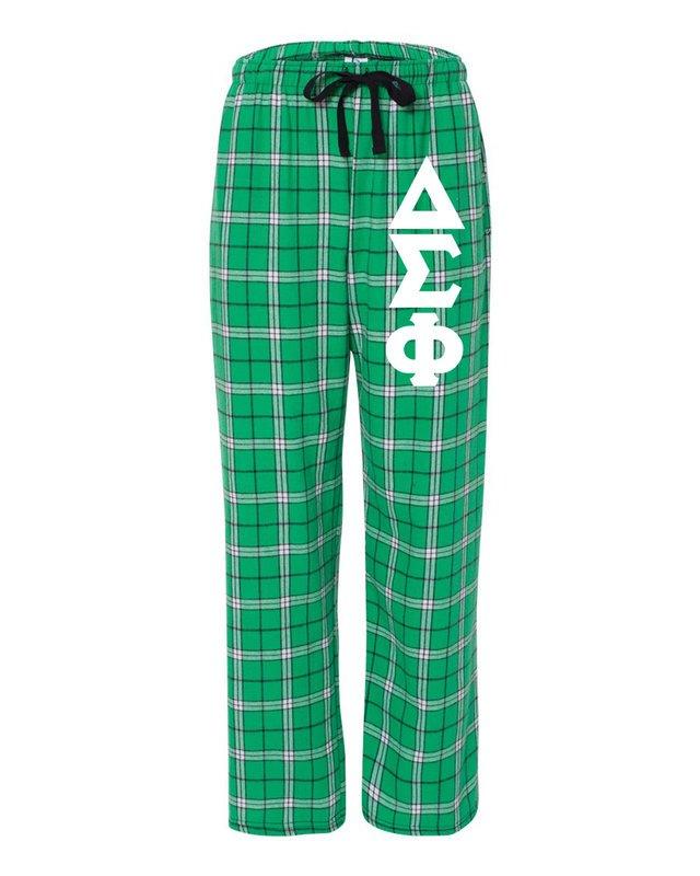 Delta Sigma Phi Pajamas Flannel Pant