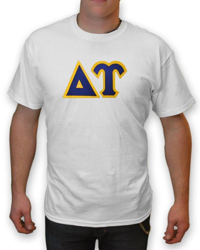 Delta Upsilon Lettered T-Shirt