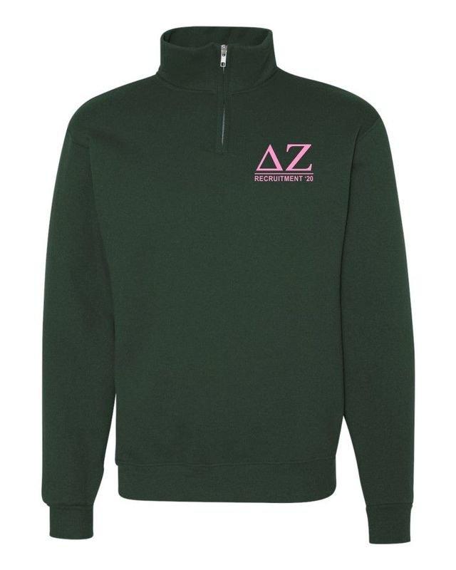 Greek Line 1/4 Zip Pullover