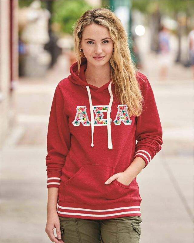 89b3f189a6e J. America Relay Sorority Hooded Sweatshirt SALE  44.95. - Greek Gear®