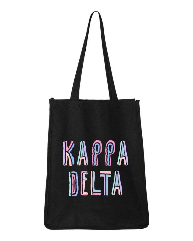 Kappa Delta Jumbo All In Tote Bag