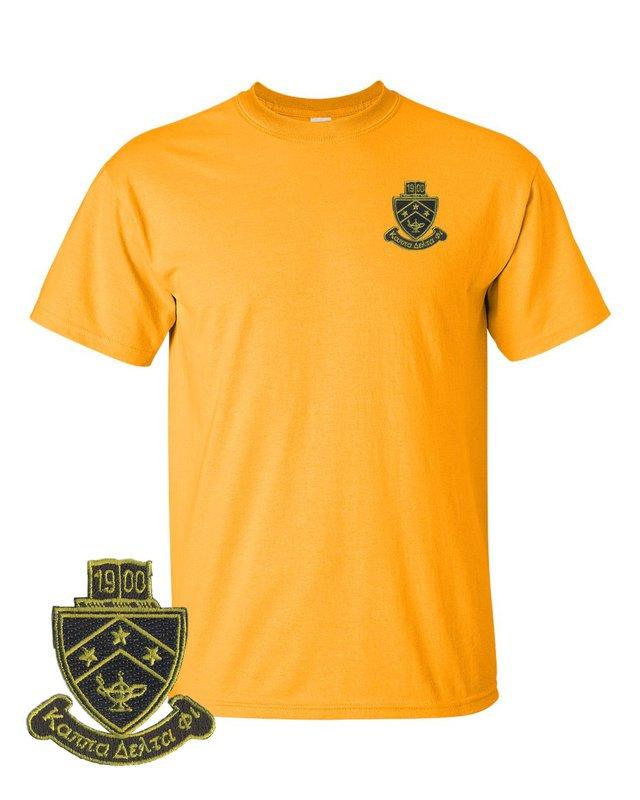 DISCOUNT-Kappa Delta Phi Crest - Shield Emblem Shirt