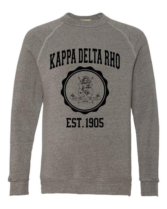 Kappa Delta Rho Alternative - Eco-Fleece™ Champ Crewneck Sweatshirt