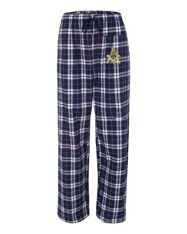 Mason / Freemasons Pajamas Flannel Pant