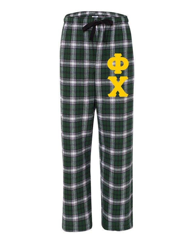 Phi Chi Pajamas Flannel Pant