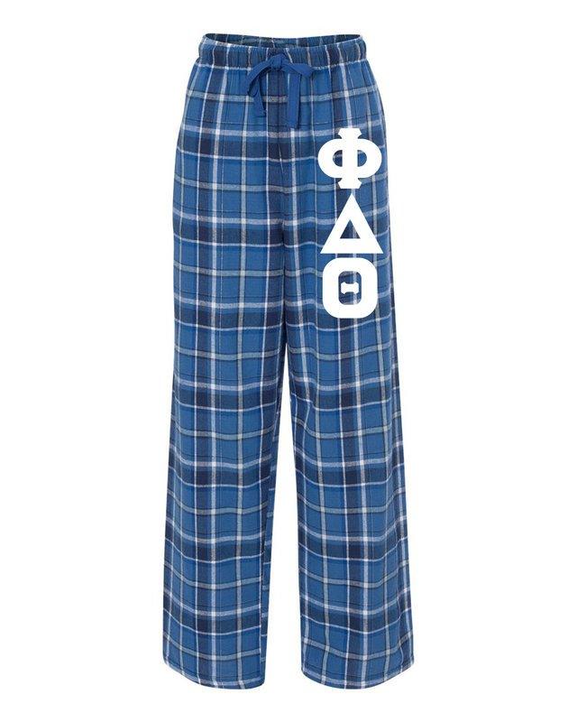 Phi Delta Theta Pajamas Flannel Pant