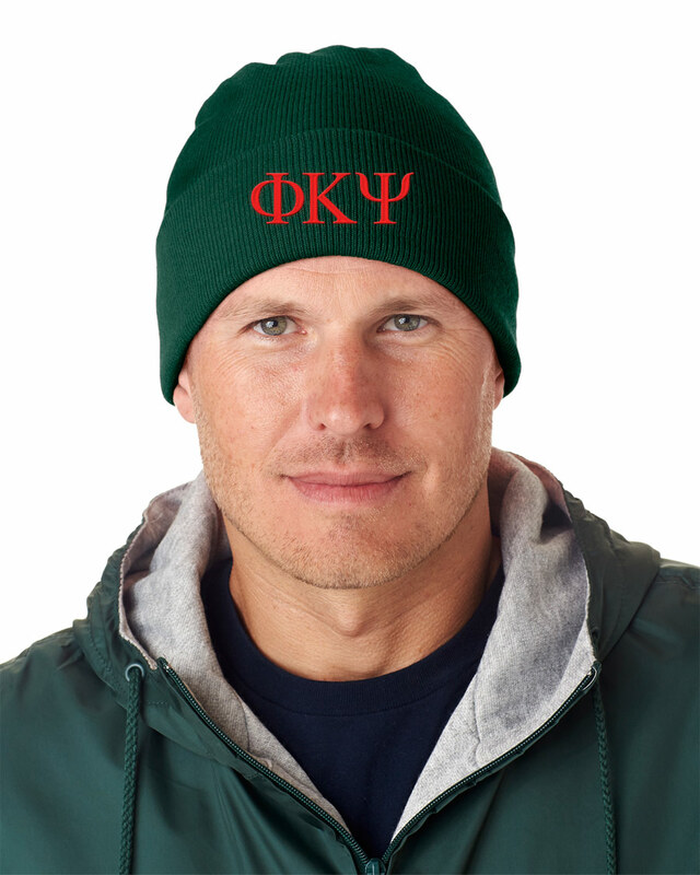 Phi Kappa Psi Greek Letter Knit Cap