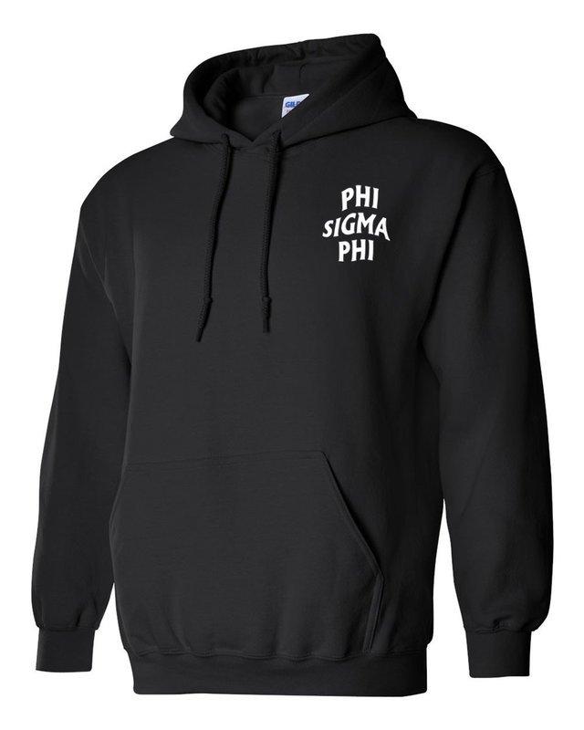 Phi Sigma Phi Social Hooded Sweatshirt