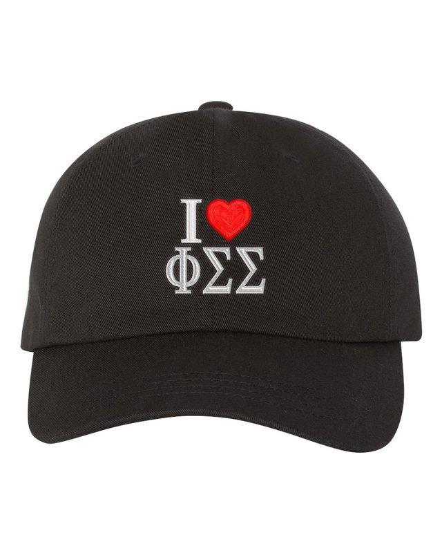 Phi Sigma Sigma I Love Hat