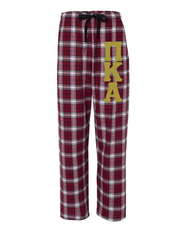 Pi Kappa Alpha Pajamas Flannel Pant