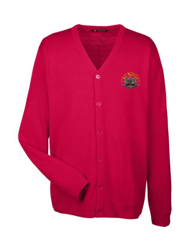 Psi Upsilon Greek Letterman Cardigan Sweater