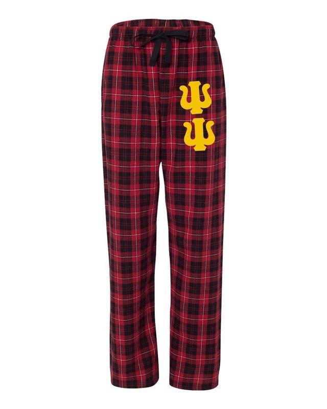 Psi Upsilon Pajamas Flannel Pant