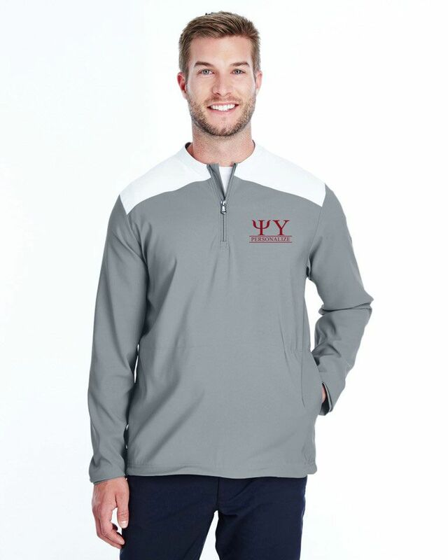 Psi Upsilon Under Armour®  Men's Triumph Cage Quarter-Zip Pullover