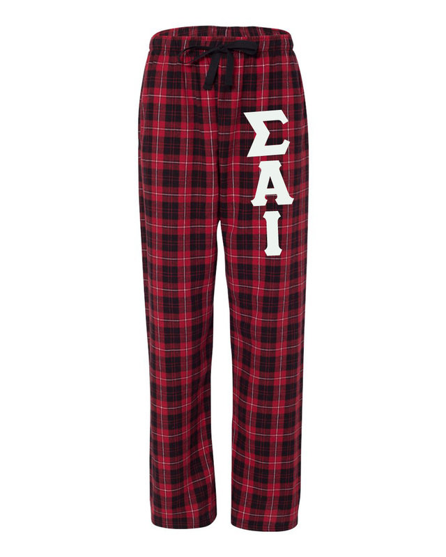Sigma Alpha Iota Pajamas -  Flannel Plaid Pant