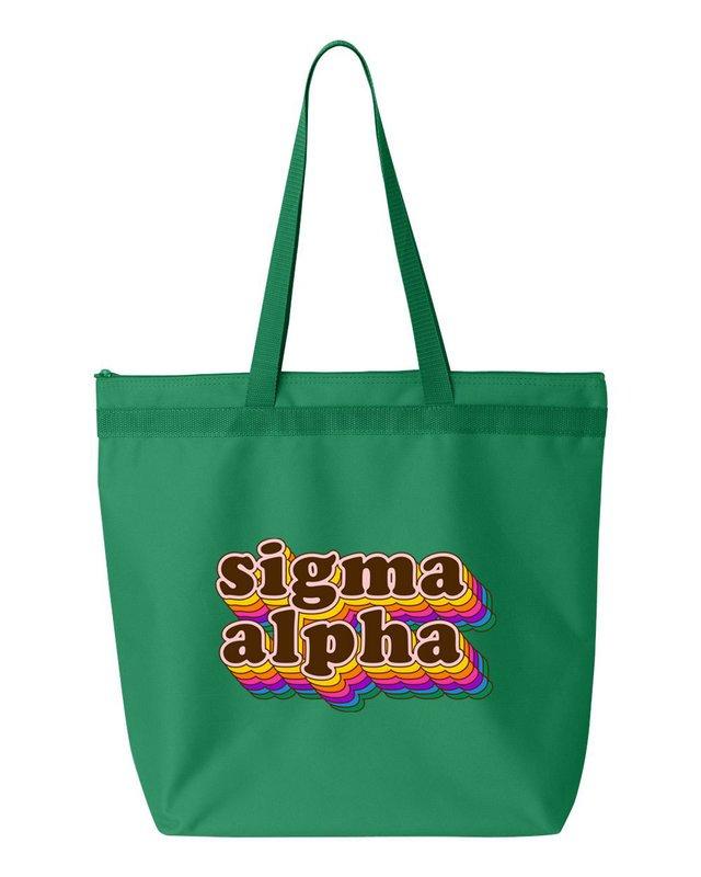 Sigma Alpha Maya Tote Bag
