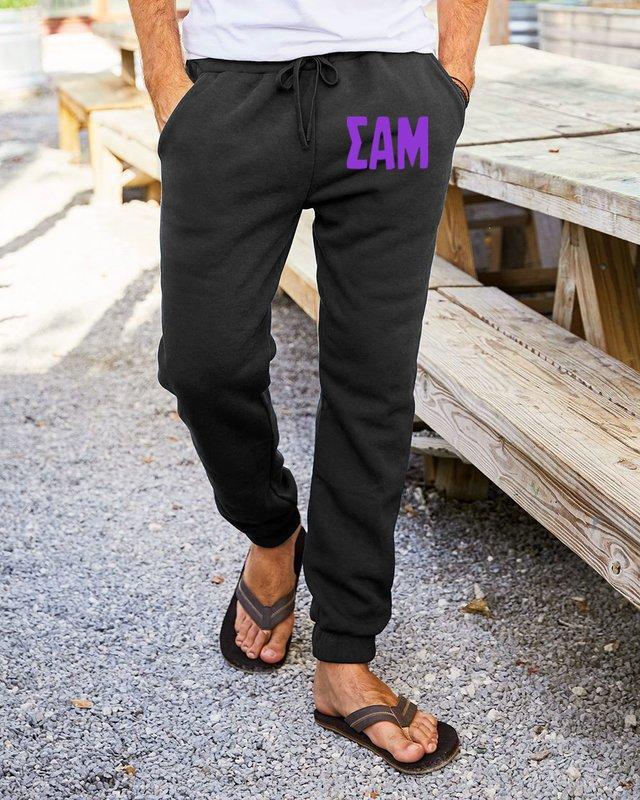 Sigma Alpha Mu Big Letter Sweatpants