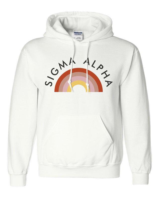 Sigma Alpha Rainbow Hoodie