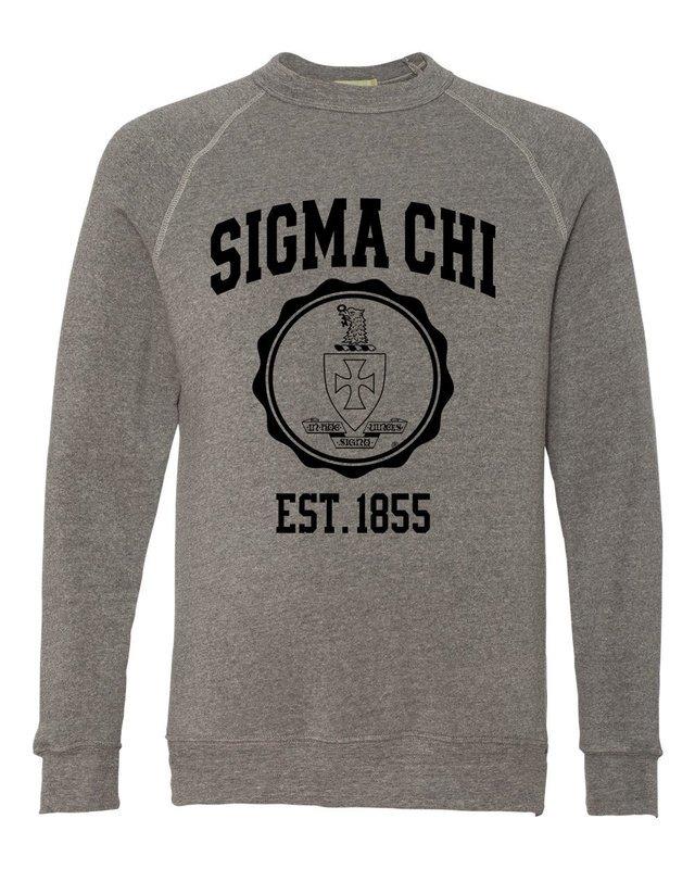 Sigma Chi Alternative - Eco-Fleece™ Champ Crewneck Sweatshirt