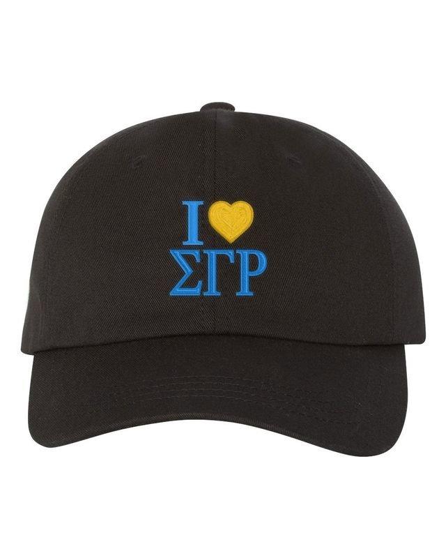 Sigma Gamma Rho I Love Hat