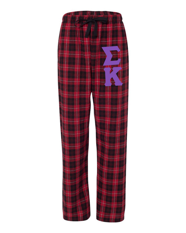 Sigma Kappa Pajamas -  Flannel Plaid Pant