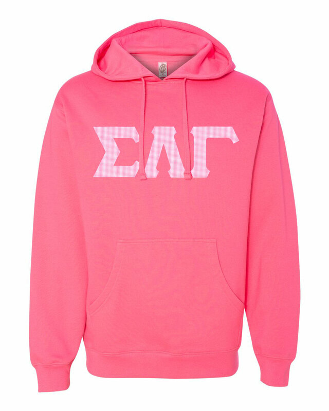 Sigma Lambda Gamma Lettered Independent Trading Co. Hooded Pullover Sweatshirt