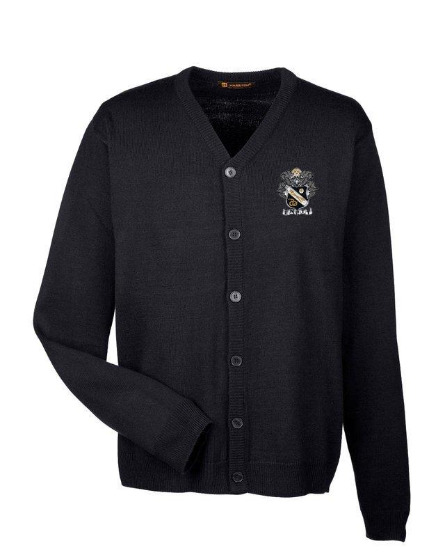 Sigma Nu Greek Letterman Cardigan Sweater