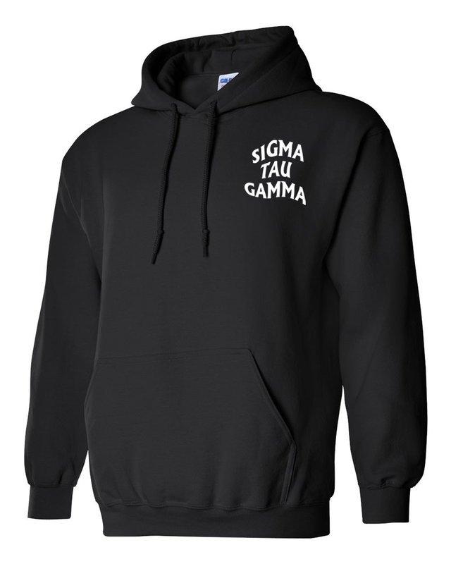 Sigma Tau Gamma Social Hooded Sweatshirt