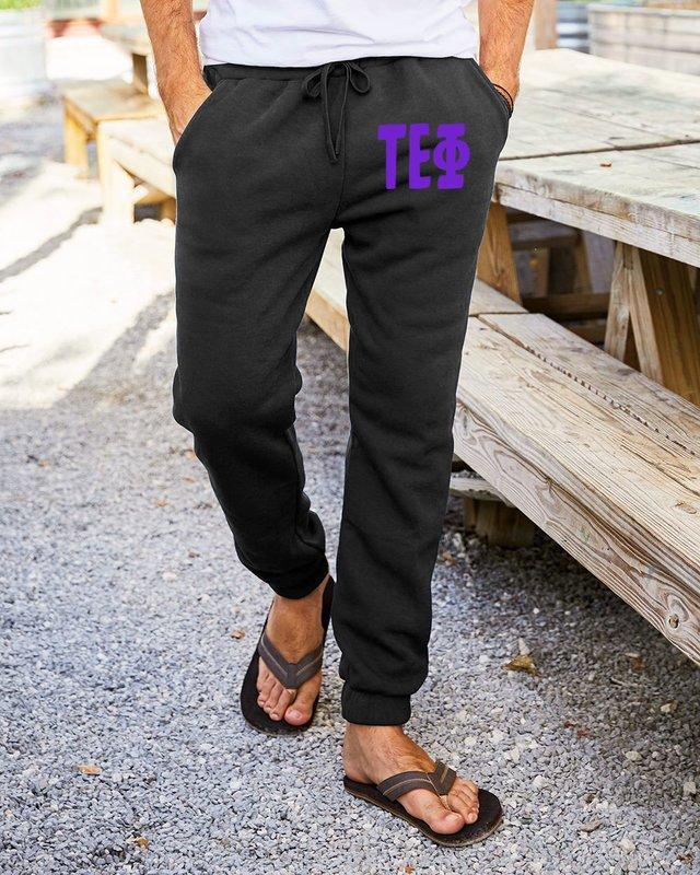 Tau Epsilon Phi Big Letter Sweatpants