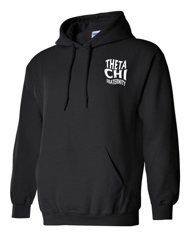 Theta Chi Social Hooded Sweatshirt