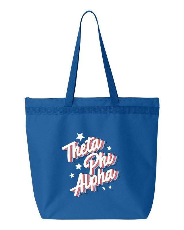 Theta Phi Alpha Flashback Tote Bag