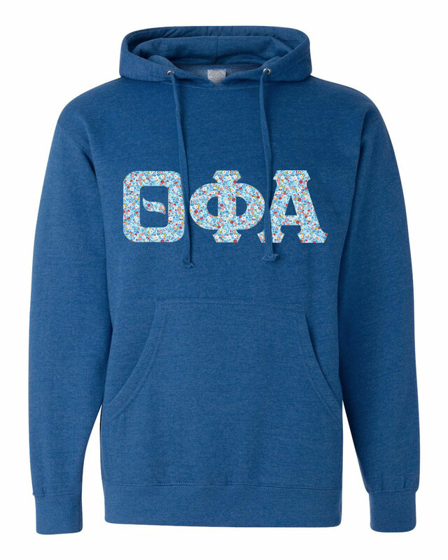 Theta Phi Alpha Lettered Independent Trading Co. Hooded Pullover Sweatshirt
