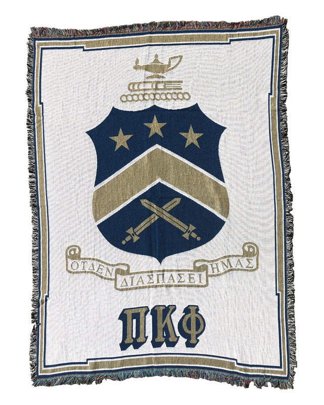 Pi Kappa Phi Afghan Blanket Throw