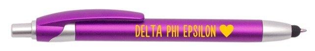 Delta Phi Epsilon Retractable Stylus Pen