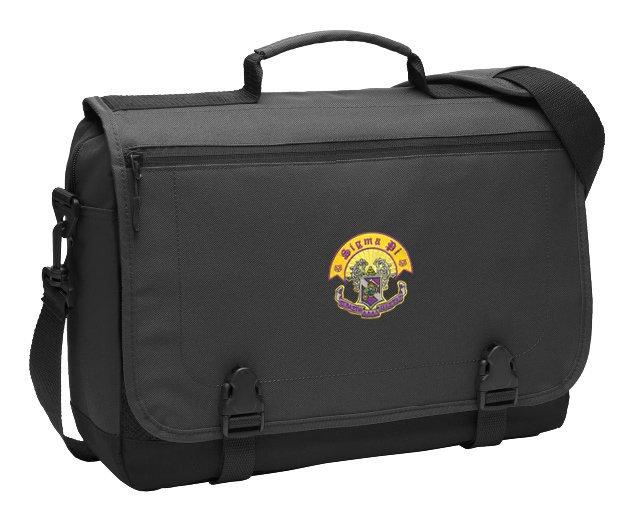 DISCOUNT-Sigma Pi Emblem Briefcase