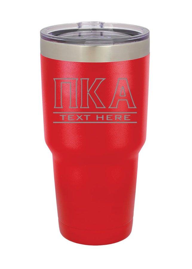 Pi Kappa Alpha Vacuum Insulated Tumbler