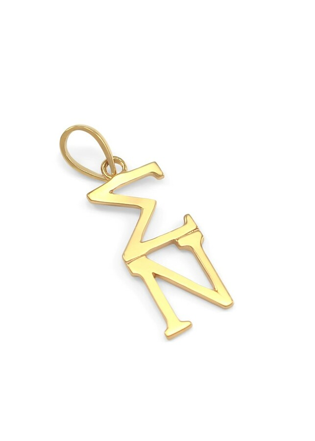Sigma Nu Greek 14K Solid Gold Lavaliere