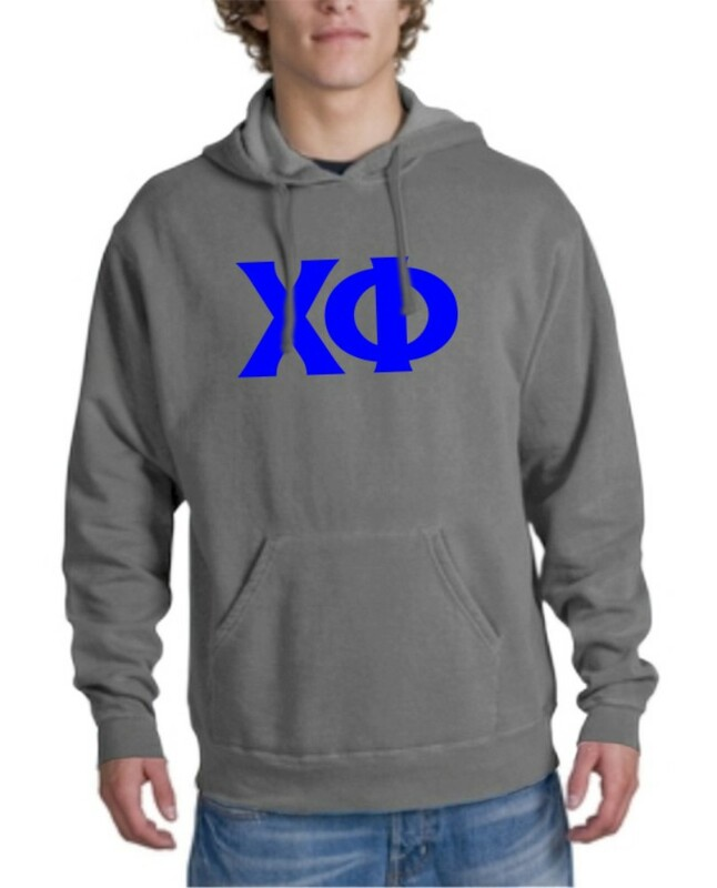 Chi Phi letter Hoodie