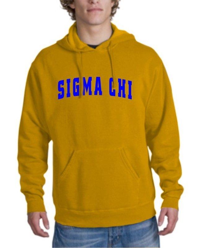 Sigma Chi letterman Hoodie
