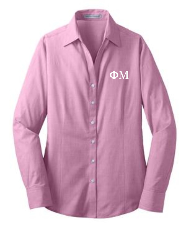 Sorority Open Neck Blouse