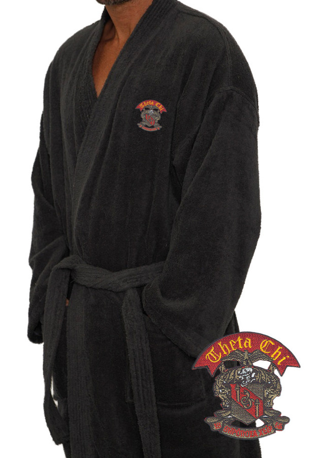 DISCOUNT-Fraternity & Sorority Greek Bathrobe