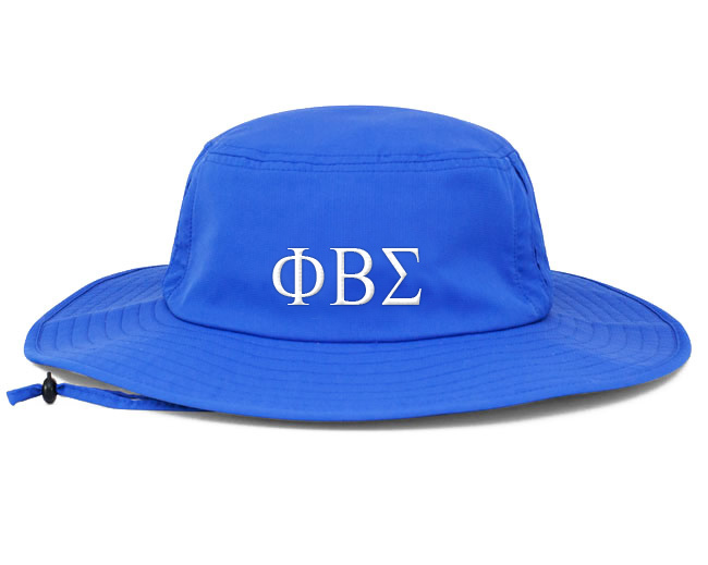 Phi Beta Sigma Greek Manta Ray Boonie Hat