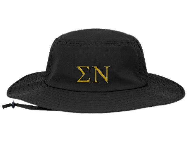 Sigma Nu Greek Manta Ray Boonie Hat