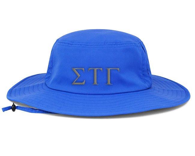 Sigma Tau Gamma Greek Manta Ray Boonie Hat